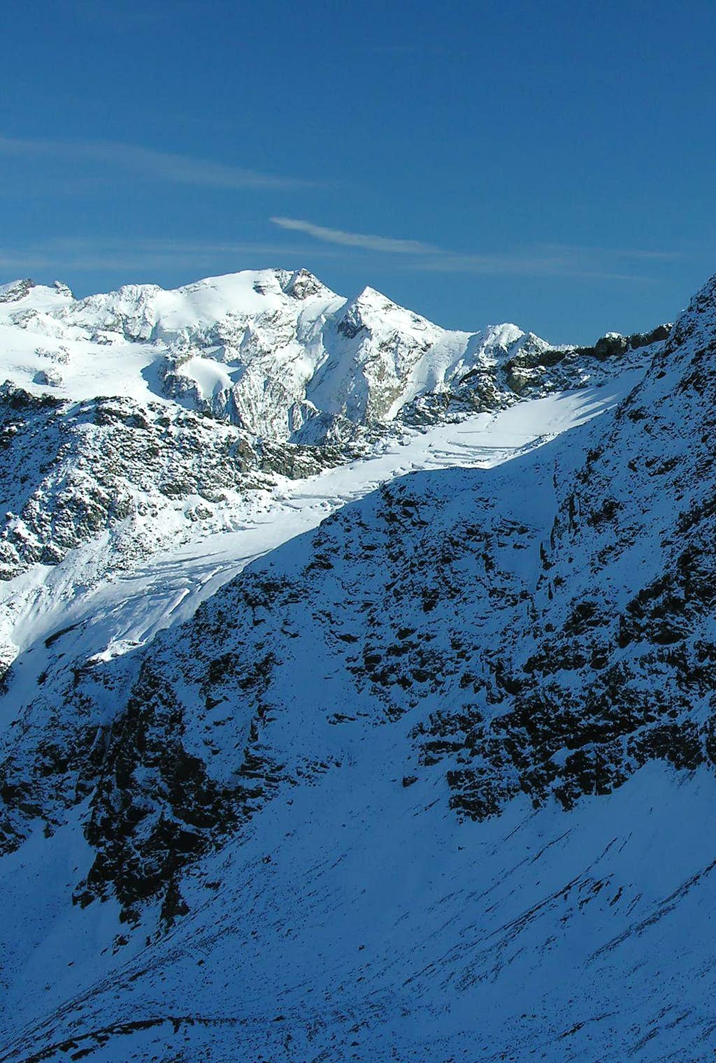 Fréduaz Occidentale Glacier