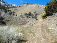 High up on the ATV trail in Miner's Canyon