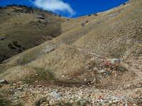 Miner's Canyon ATV Trail swtichbacks