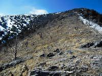 Ridgeline above Miner's Canyon