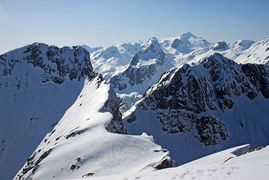 Veliki Draski vrh - W views