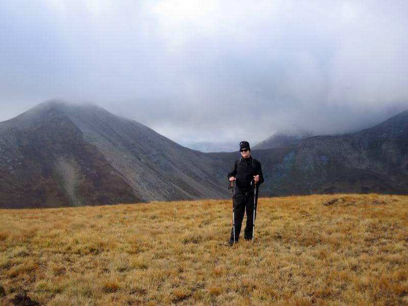 On top of Karabunar, Bakardan (left) in the back