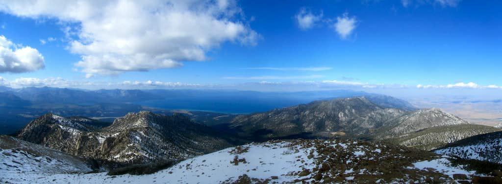 Early Winter Freel Peak Panorama