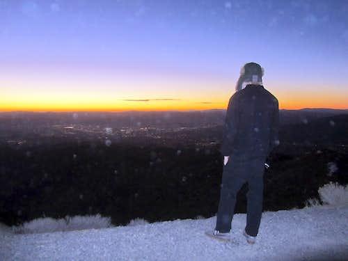 Peavine Sunrise