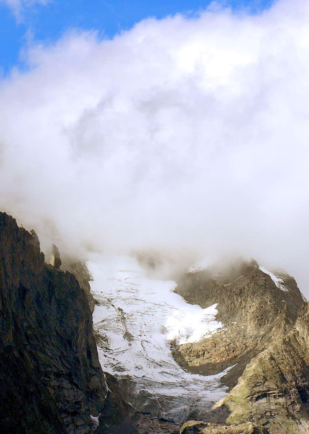 Entrèves Glacier
