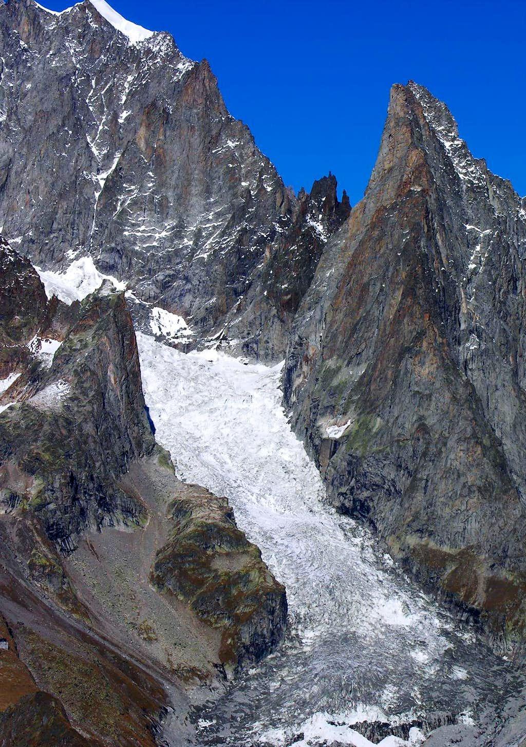 Frêney Glacier