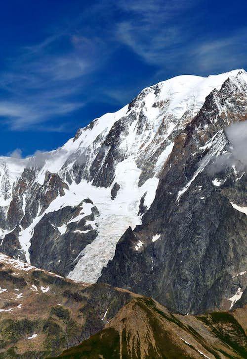 Monte Bianco Glacier