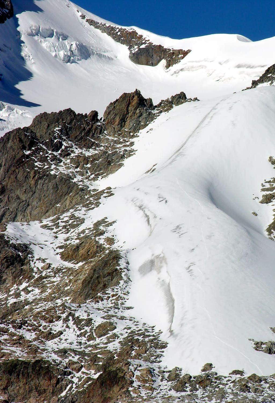 Petit Mont Blanc Glacier