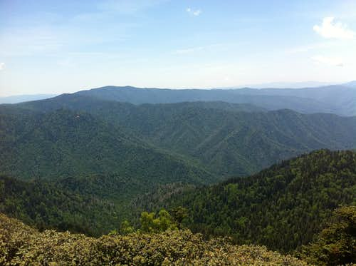 Sweeping views, Mont Leconte