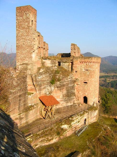 Altendahn Castle seen from...