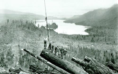 Darius Kinsey photo from Mount Cavanaugh