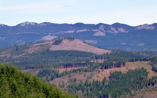Kinsey Hill from Frailey Mountain