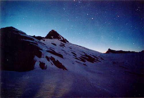 Starlight on Mt. Aspiring...