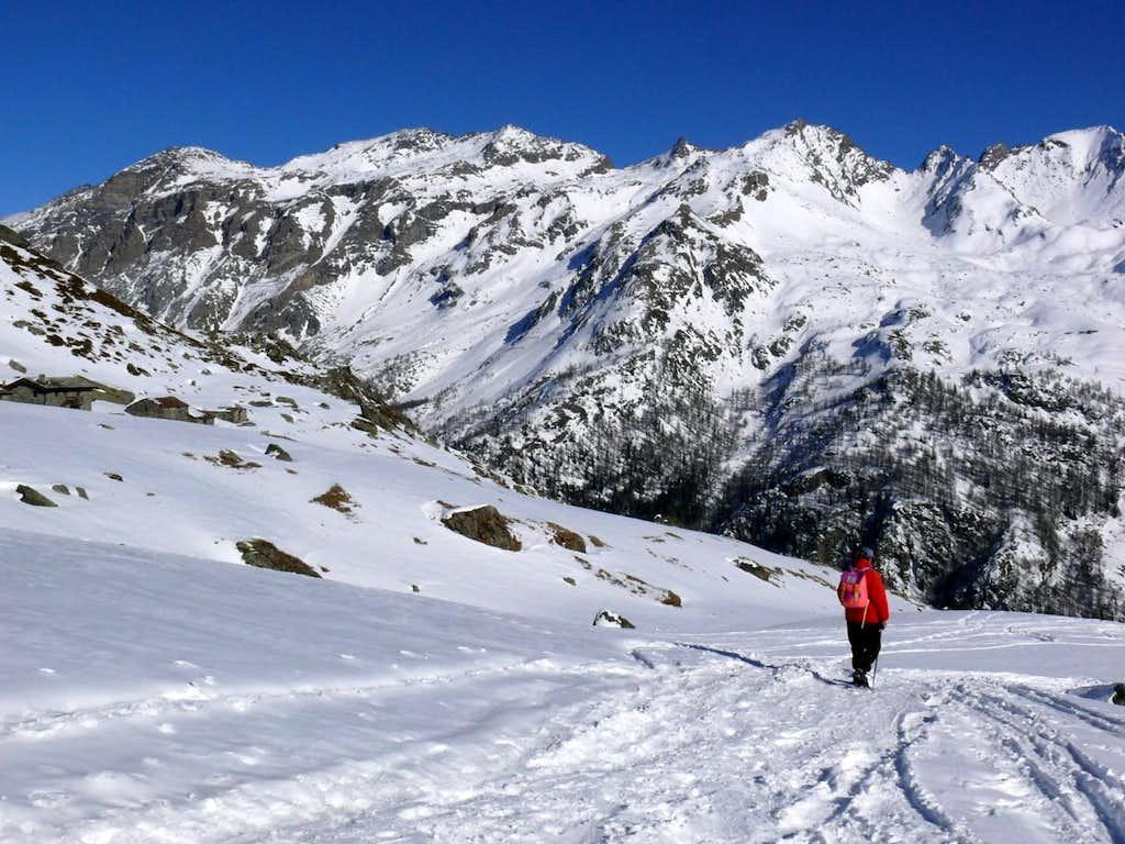 Descent fro Arp Vieille Alpage to Valgrisenche Dam 2007