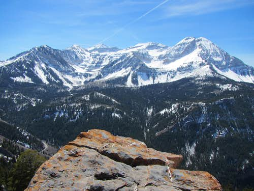 view of Mt Timpanogos