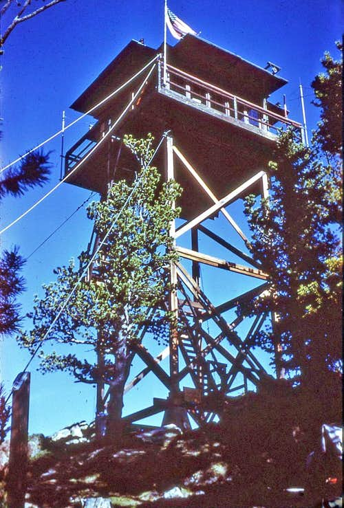 Old Lookout Tower.