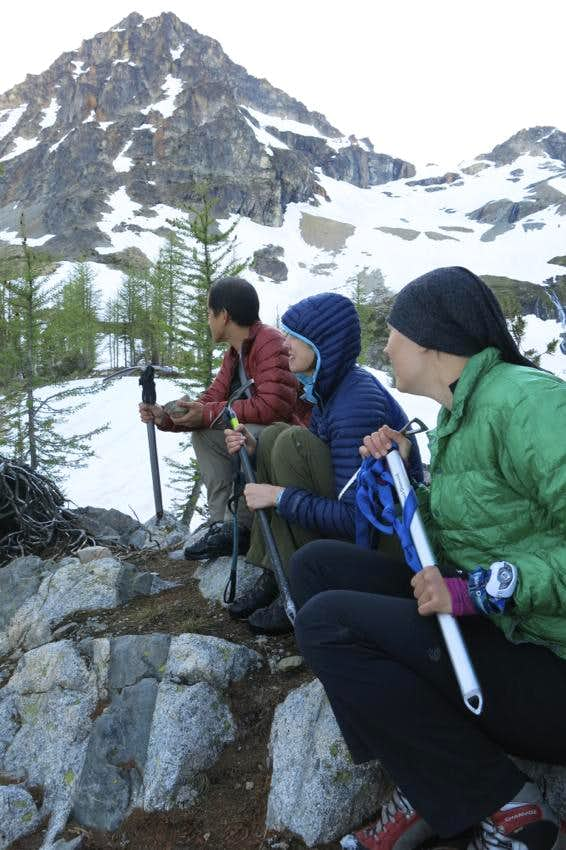 Attempting to ditch the Black Peak Mountain Goat