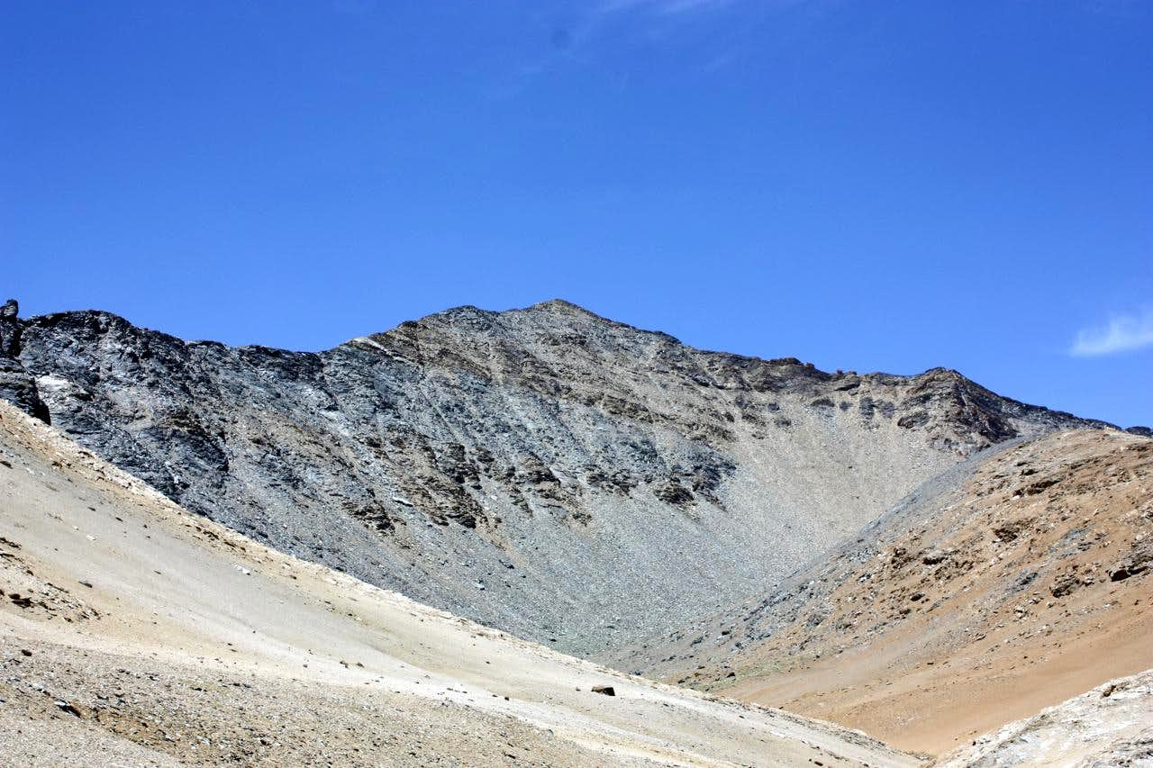 Ascent of Unnamed 5874 m peak in southern Lopu Kangri (Loinbo Kangri) range