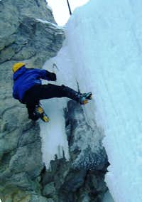 Ice Bouldering in Canada