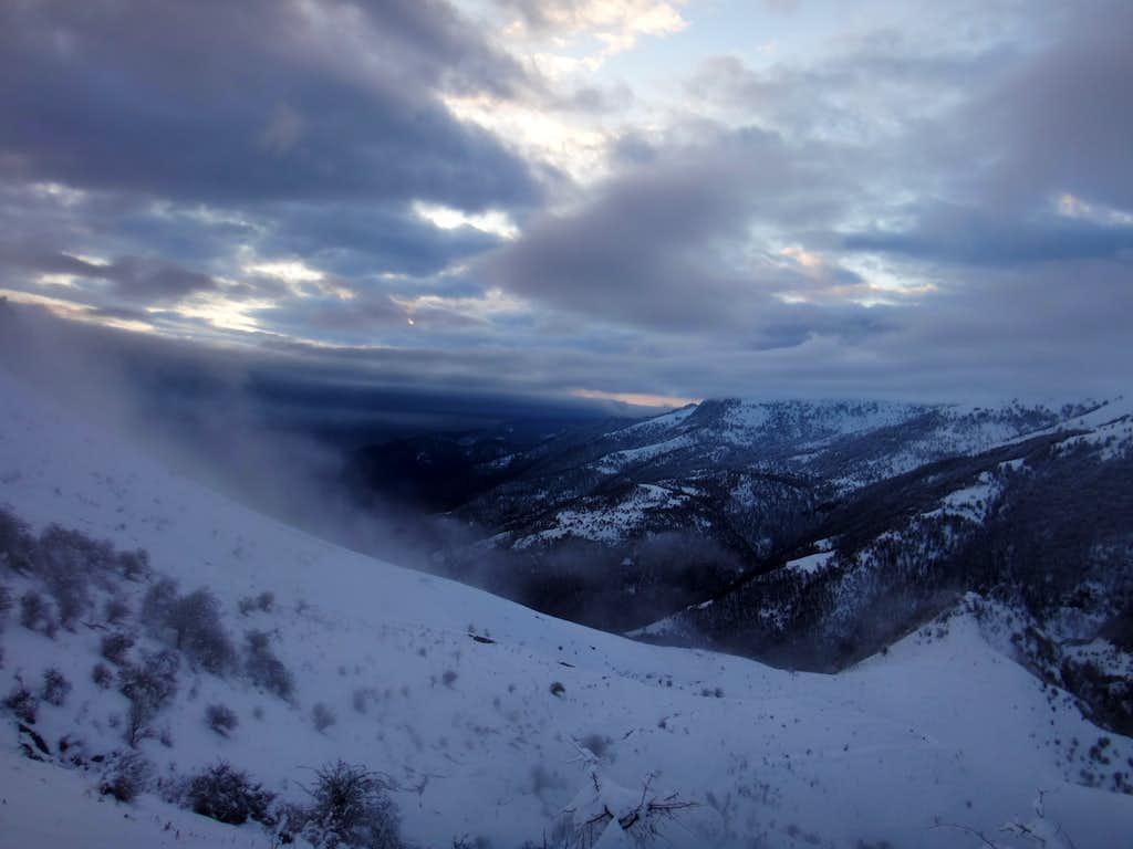 To Shah-moalem peak