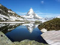Matterhorn from the Riffelsee