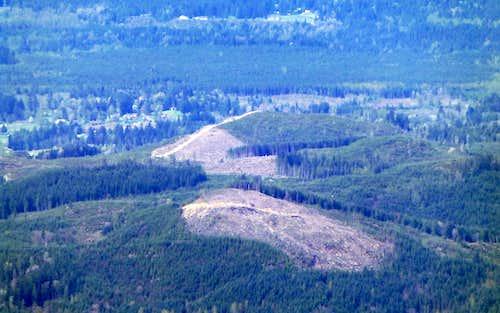 Highwire as seen from Zekes Peak
