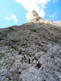 Via ferrata Brigata Tridentina