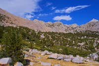 Kearsarge Pass left of center