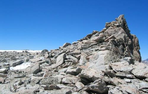 Summit plateau on July 12,...