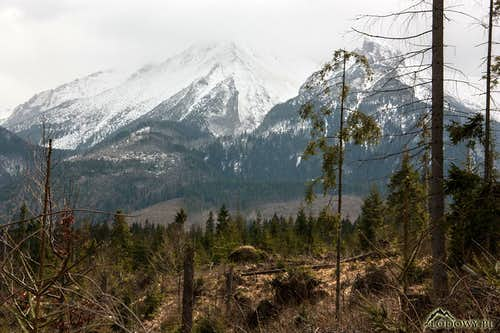 Weather breaking down over White Tatras