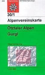 30/1 AV Karte Gurgl