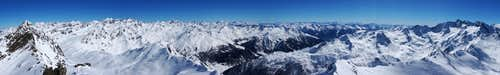 Wurmkogel Summit Panorama