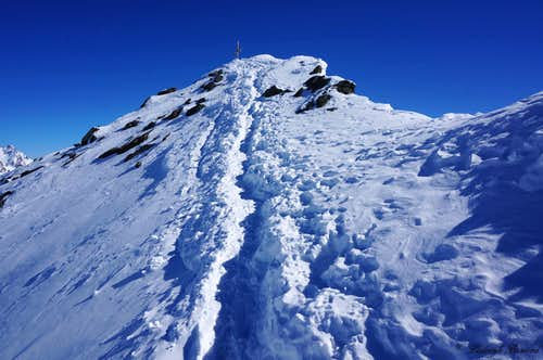 Almost at the summit of Wurmkogel