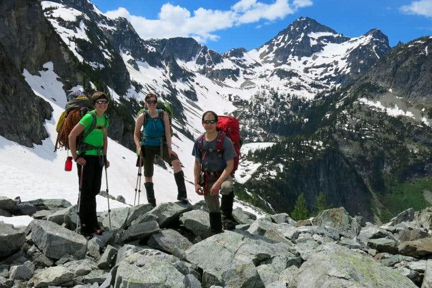 Black Peak from Heather Pass