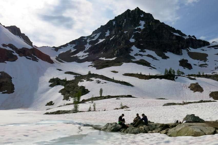 Black Peak Camp at Wing Lake