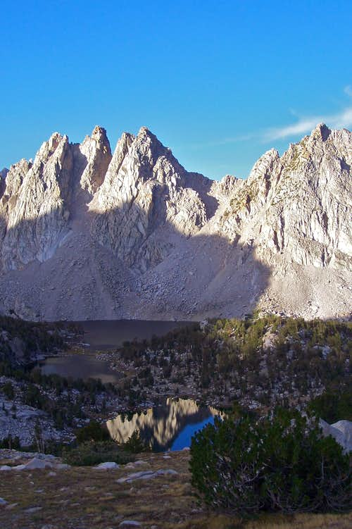 Kearsarge Pinnacles on the walk out day