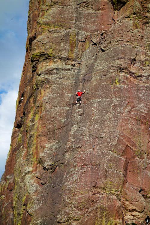 Eldorado Canyon Rock climbing