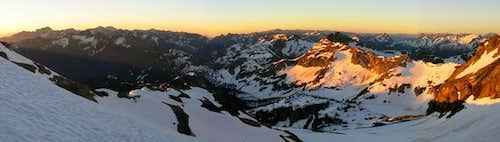 Looking SE from Black Peak