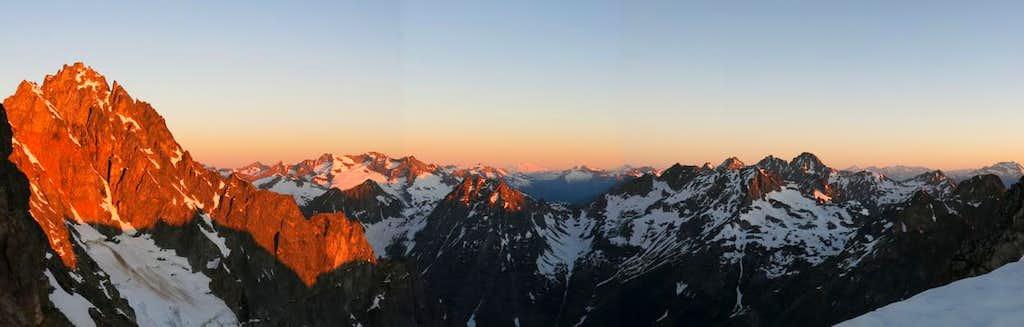 Looking NE from Black Peak
