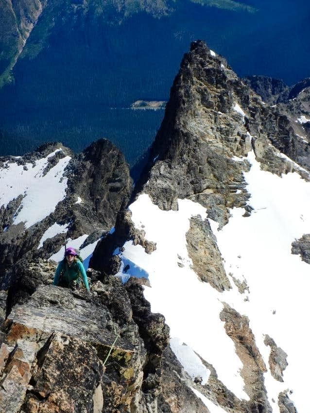 Start of Black Peak's NE Ridge