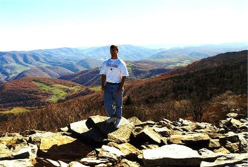 Me on top of Spruce Knob in...