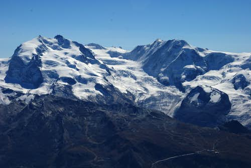 As seen from Zinalrothorn