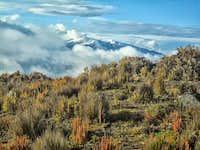 Nevado Del Ruiz from the base of nevado del tolima
