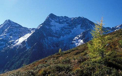 Rote Spitze seen from north...