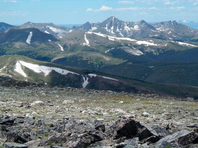 View of Never Summer Range...
