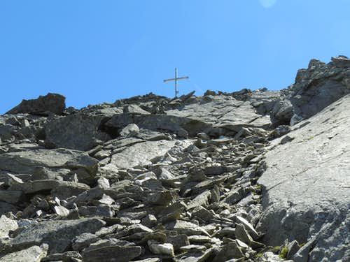 The summit Cross