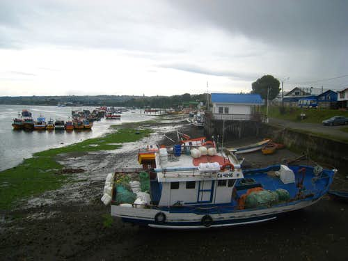 Low tide at Dalcahue