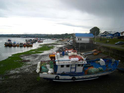 Low tide at Dalcahue