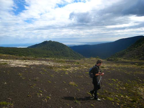 Hiking near Osorno