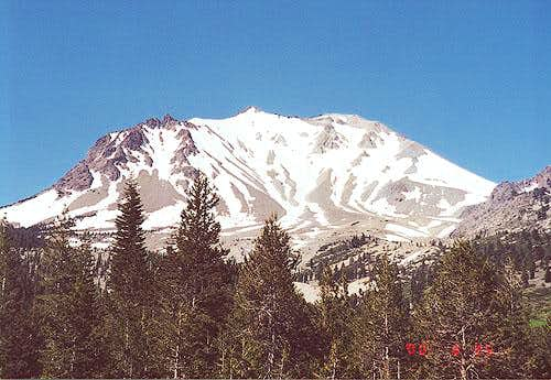 Lassen Peak's Northeast Face...